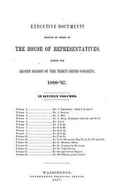 House Documents: Volume 6; Volume 232