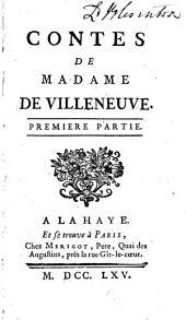 Contes de Madame de Villeneuve: Volume1