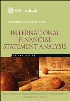 International Financial Statement Analysis PDF