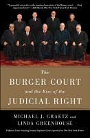 The Burger Court and the Rise of the Judicial Right PDF