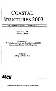 Coastal Structures 2003 PDF