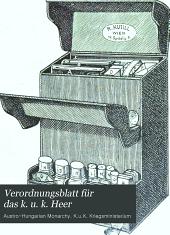 Verordnungsblatt für das k. u. k. Heer: Normal-Verodnungen, Band 45