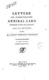 Lettere Del Commendatore Annibal Caro