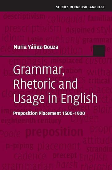 Grammar  Rhetoric and Usage in English PDF