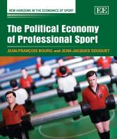 The Political Economy of Professional Sport PDF