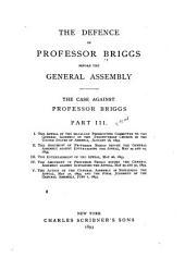 The Case Against Professor Briggs: Volume 3
