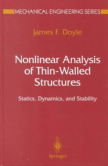 Nonlinear Analysis of Thin Walled Structures PDF