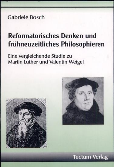Reformatorisches Denken und fr  hneuzeitliches Philosophieren PDF