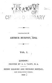 Tacitus: Volume 1