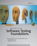 Software Testing Foundations  5th Edition  A Study Guide for the Certified Tester Exam PDF
