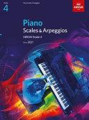 Piano Scales & Arpeggios, ABRSM Grade 4