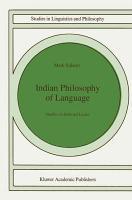 Indian Philosophy of Language PDF
