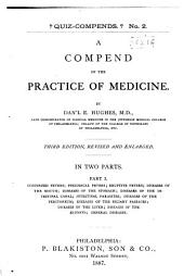 A Compend of the Practice of Medicine: Volume 1