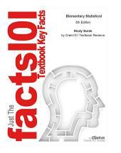 Elementary Statisticsl: Edition 5
