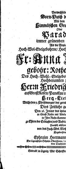 Verwechselter Dorn Pusch der Welt Mit dem Himmlischen Gro   Rosen Oder Paradei   immer gr  nenden Seeligkeit PDF