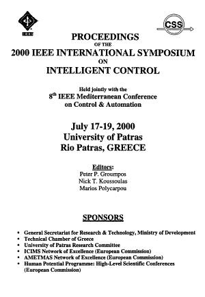 Proceedings of the 2000 IEEE International Symposium on Intelligent Control PDF