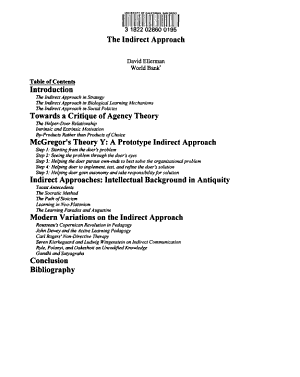The Indirect Approach PDF