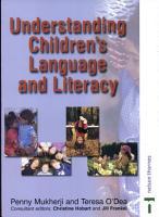 Understanding Children s Language and Literacy PDF