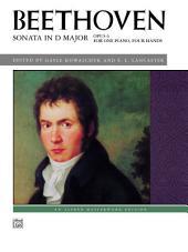 Sonata in D Major, Op. 6: Late intermediate Piano Duet (1 Piano, 4 Hands)