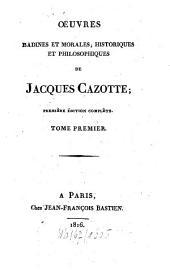 Oeuvres badines et morales, historiques et philosophiques: Volume1