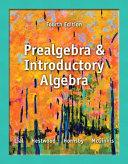 Prealgebra and Introductory Algebra
