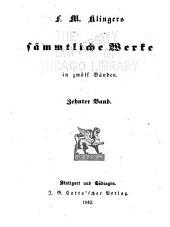 F.M. Klingers sämmtliche werke ...