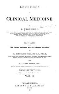Lectures on clinical medicine v 2 PDF