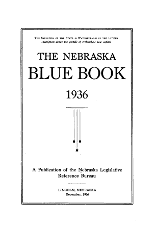 Nebraska Blue Book PDF