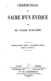 Cérémonial du sacre d'un évêque
