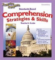 Practice with Purpose  Standards Based Comprehension Strategies   Skills Secondary  Binder with Transparencies  PDF