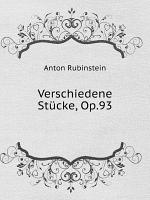Verschiedene St cke  Op 93 PDF