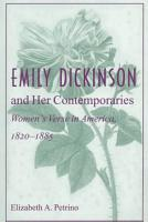 Emily Dickinson and Her Contemporaries PDF