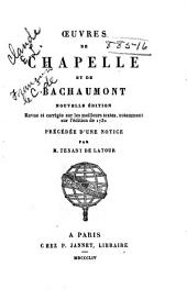 Œuvres de Chapelle et de Bachaumont