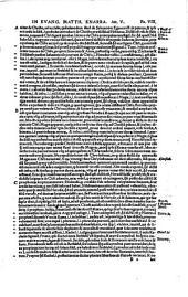 Enarrationes piae ac eruditae: In quatuor evangelistas enarrationes, Volume 8