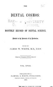 The Dental Cosmos: Volume 18