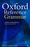 The Oxford Reference Grammar PDF
