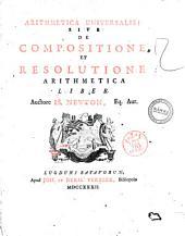 Arithmetica universalis; sive De compositione et resolutione arithmetica liber. Auctore Is. Newton ..