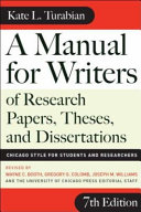 A Manual for Writers of Research Papers  Theses  and Dissertations PDF