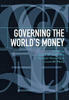 Governing the World s Money PDF