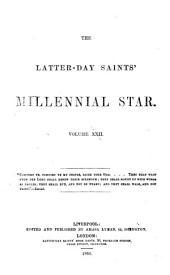 THE LATTER-DAY SAINTS' MILLENIAL STAR