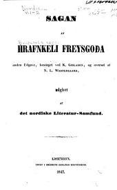 Nordiske oldskrifter: Bind 1–2