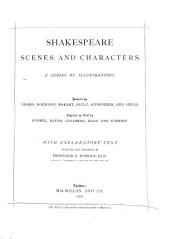 Shakespeare Scenes and Characters: A Series of Illustrations Designed by Adamo, Hofmann, Makart, Pecht, Schwoerer, and Spiess