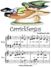 Carrickfergus - Beginner Tots Piano Sheet Music
