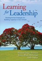 Learning for Leadership PDF