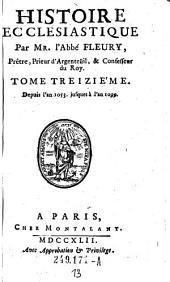Depuis l'an 1053 jusques à l'an 1099: Volume 13