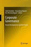 Corporate Governance PDF