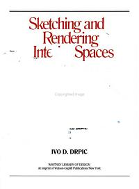 Sketching and Rendering Interior Spaces Book