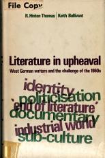 Literature in Upheaval PDF
