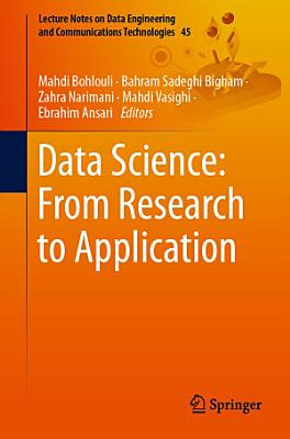 Data Science  From Research to Application