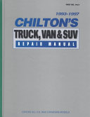 Chilton's Truck and Van Manual, 1993-1997